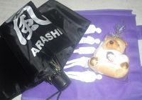 SOUVENIRS: eco bag, umbrella and matsujun bear